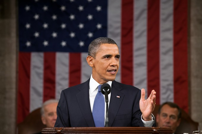 President Obama delivers State of the Union. Photo: Wikimedia