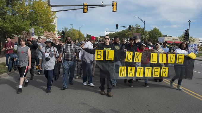 Black Lives Matter Protest in St. Paul