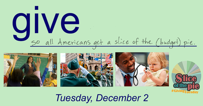 Giving Tuesday 2014: Slice of the Pie