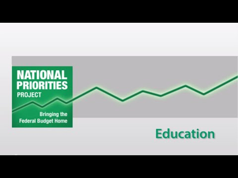 2015 U.S. Federal Budget: Education