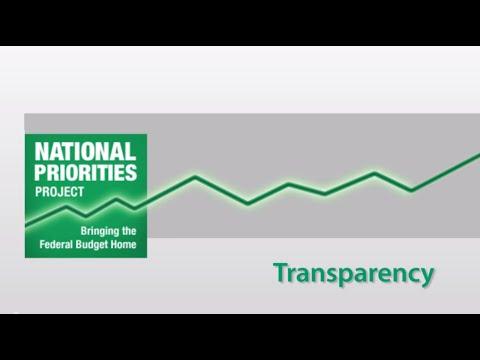 2015 U.S. Federal Budget: Transparency