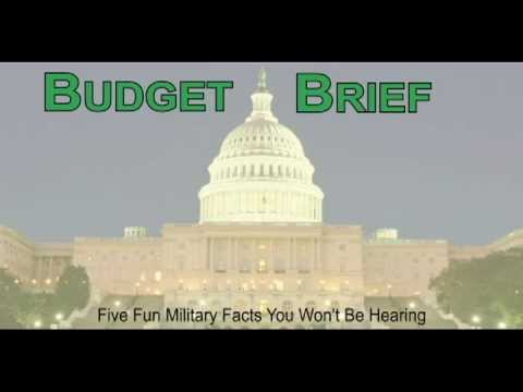 Budget Brief - Five Fun Military Facts You Won't Be Hearing