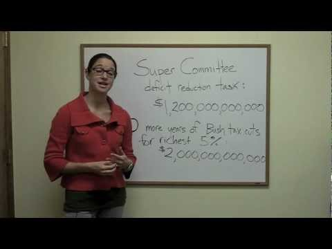 Budget Brief - The Super Committee and Tax Cuts