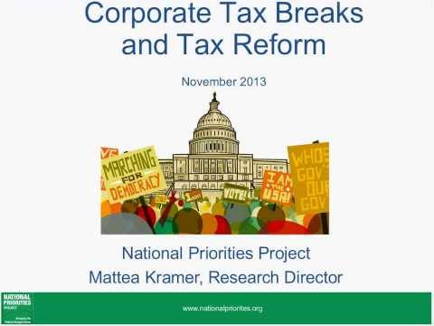 Corporate Taxes and Tax Reform