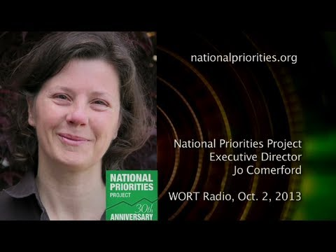 Government Shutdown: National Priorities Project's Jo Comerford on WORT Radio