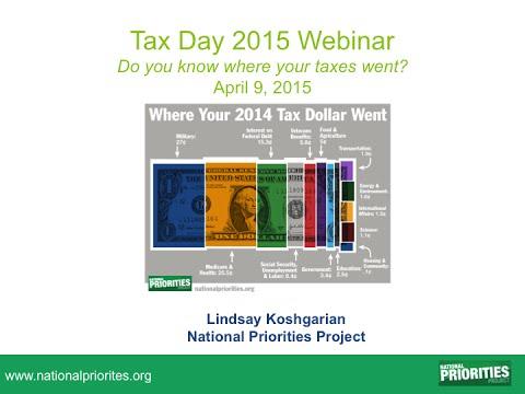 Tax Day 2015 Webinar